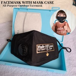 3 layers face mask for kids - Face mask storage